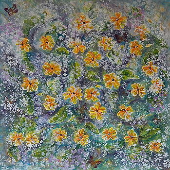 Spring Bouquet by Theresa Marie Johnson