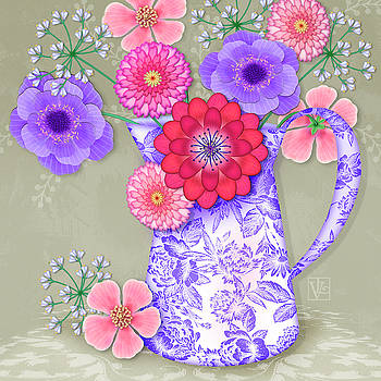 Summer Bouquet by Valerie Drake Lesiak
