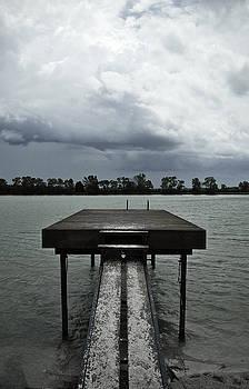 Summer By the Dock in Bleach Process by Samantha Boehnke