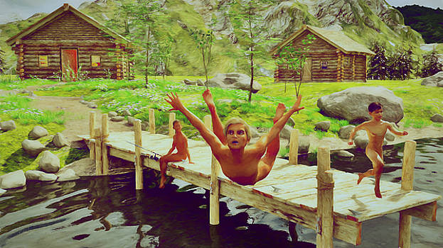 Summer Camp 1981 by Marlon Baker