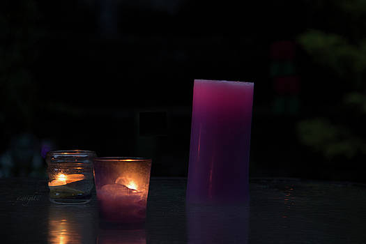Candlelight  by Yvonne Wright