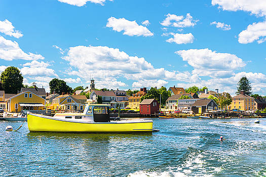 Summer Colors in the South End by Devin LaBrie
