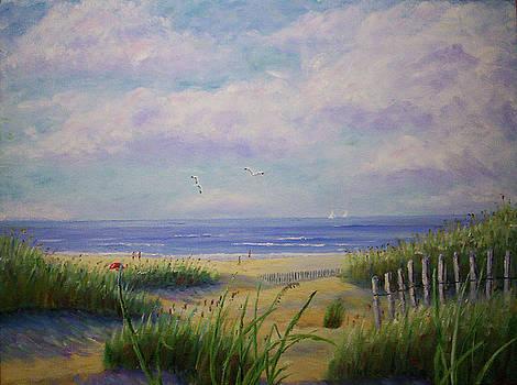 Summer Day At The Beach by Stanton Allaben