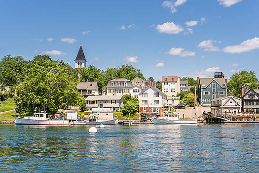 Summer Days at the Kittery Foreside by Devin LaBrie