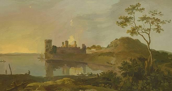 Wilson Richard - Summer Evening Caernarvon Castle 1765