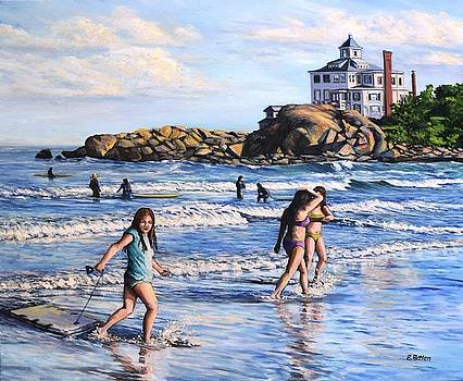 Summer Evening Good Harbor Beach by Eileen Patten Oliver