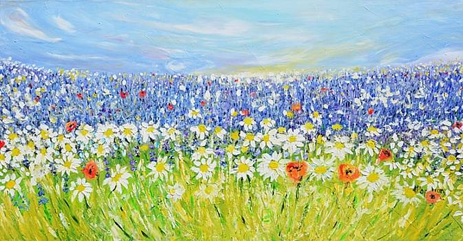 Summer Field by Evelina Popilian