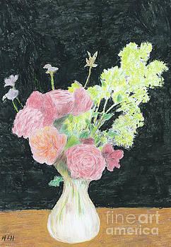 Harry Hambling - Summer flowers, 1997