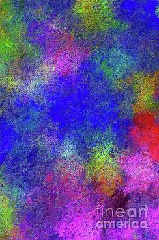 Tito - Summer Flowers, Abstract Painting by Tito
