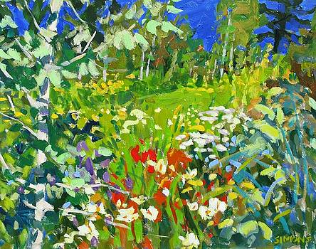 Summer Flowers by Brian Simons