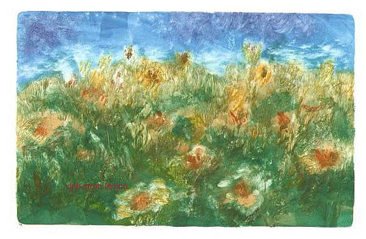 Summer Flowers by Deb Stroh Larson