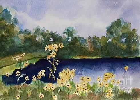 Summer Flowers by Jan Bennicoff