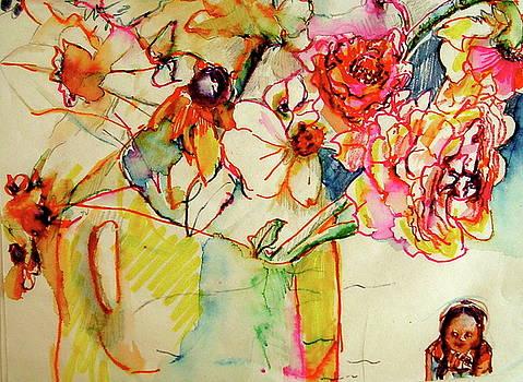 Summer Flowers by June Harding