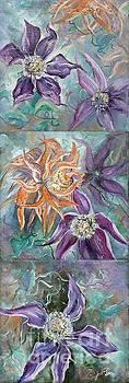 Summer Flowers Tall by Ryn Shell