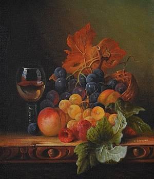 Summer Fruits And Wine by Ray Gilronan