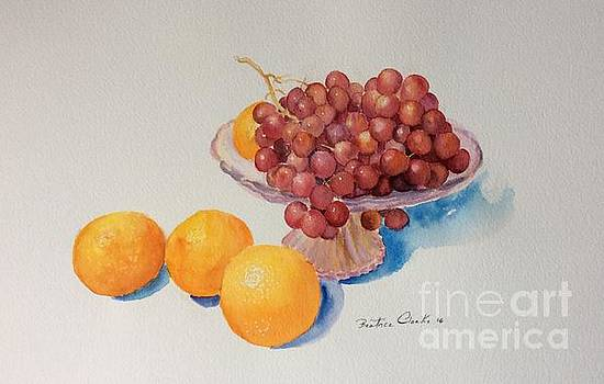 Summer fruits by Beatrice Cloake