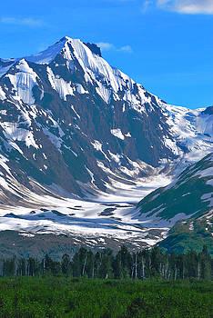 Summer Glacier by Preston Zeller