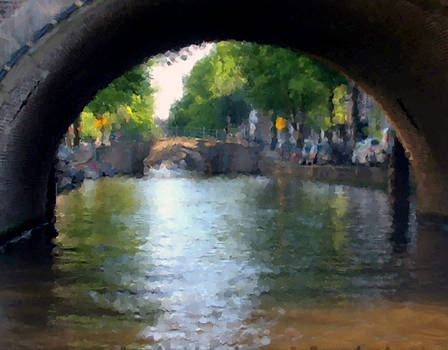 Summer in Amsterdam 1 by Alan Mattison