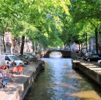 Summer in Amsterdam 2 by Alan Mattison