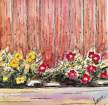 Summer In Backyard by Ida Yavari