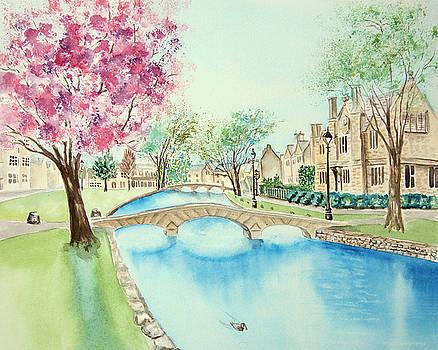 Summer in Bourton by Elizabeth Lock