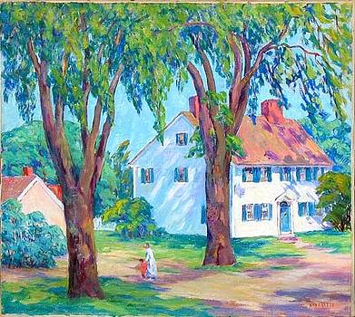 Summer in Gloucester MA by Nan Sheets
