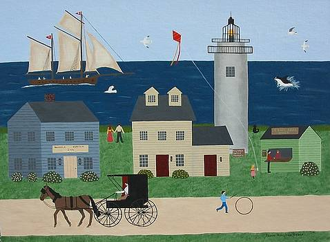 Summer In New England by Susan Houghton Debus