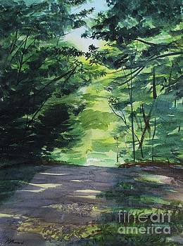 Summer In The Chestnut Woods by Martin Howard