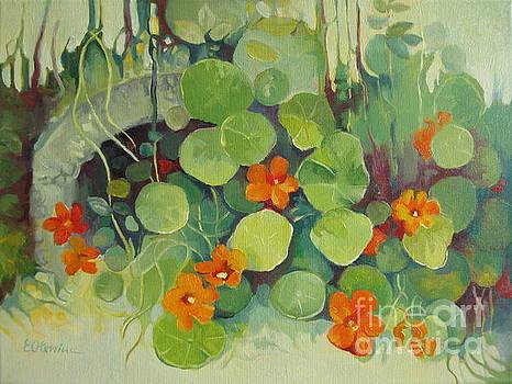 Summer in the garden by Elena Oleniuc