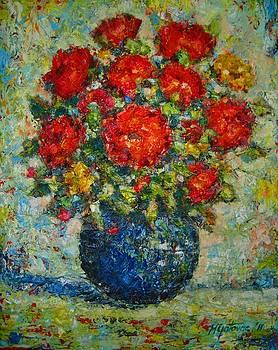 Summer in The Vase by Mirjana Gotovac