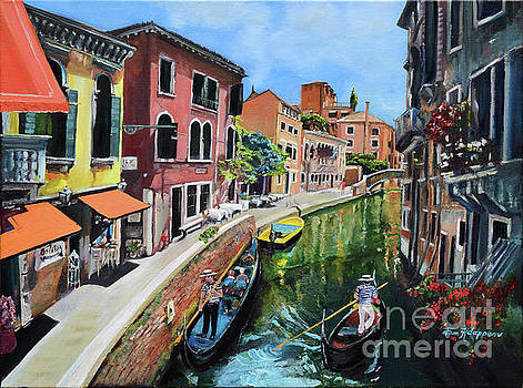 Summer in Venice - Venezia - Dreaming of Italy by Jan Dappen