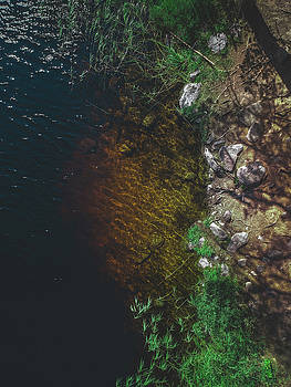 Summer Lake - Aerial Photography by Nicklas Gustafsson
