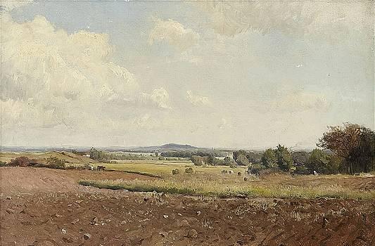 Summer Landscape by Gustaf Rydberg