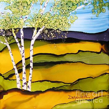 Summer Landscape II by Diane Marcotte
