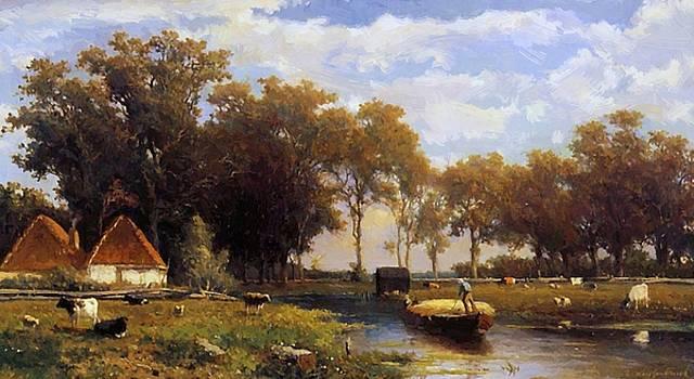 Weissenbruch Johan Hendrik - Summer Landscape
