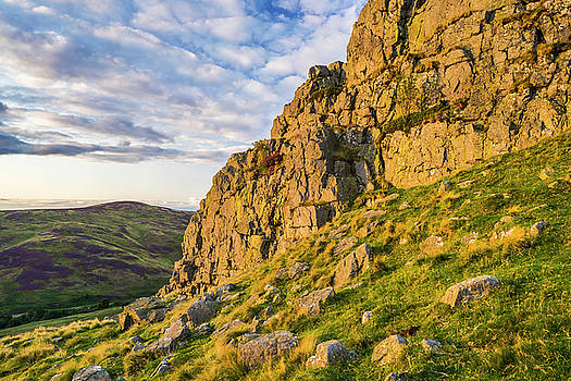 Summer light on Housey Crags by David Taylor