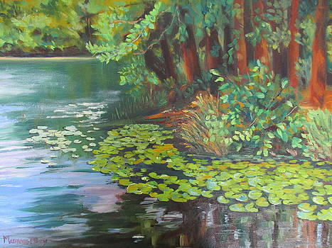 Summer Lily Pads by Maureen Obey