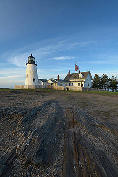 Summer Morning at Pemaquid Point II by Jesse MacDonald