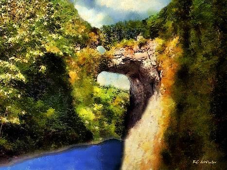 Summer Morning, Natural Bridge by RC DeWinter