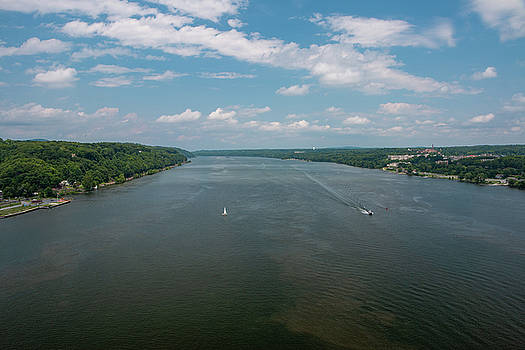 Summer Morning View Over the Hudson by Jeff Severson