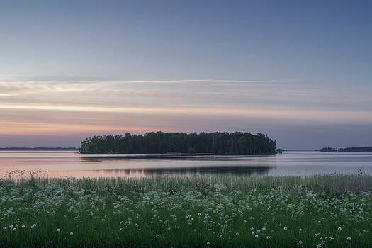 Summer Night in Scandinavia by Ludwig Riml