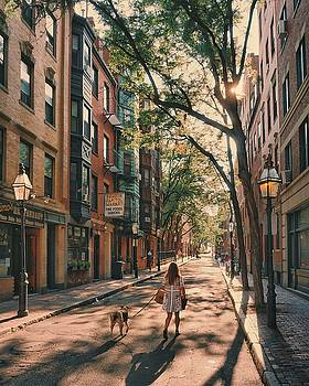 Summer on Myrtle Street by Brian McWilliams
