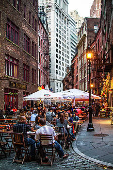Summer on Stone Street by Robert J Caputo