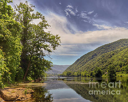 Summer on the New River by Kerri Farley