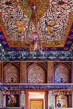 Summer palace of Shaki Khans by Fabrizio Troiani