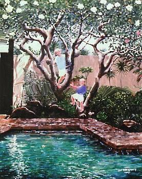 Summer Pool-Oahu by Leif Thor Kvammen