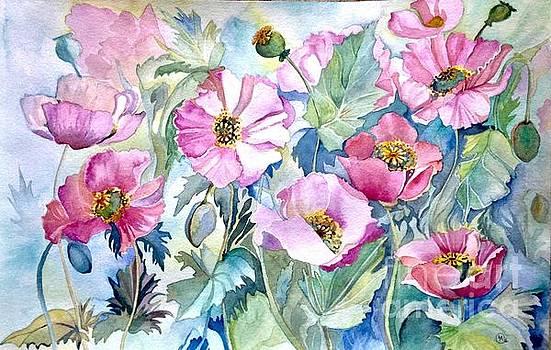 Summer Poppies by Iya Carson