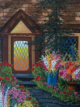 Summer Porch by Bonnie Cook