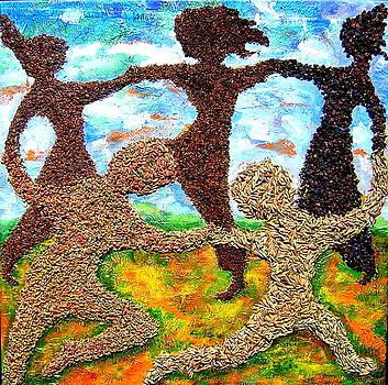 Summer Prairie Dance by Naomi Gerrard