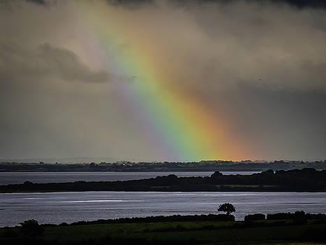 Summer Rainbow over Shannon Estuary by James Truett